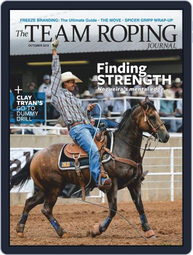 The Team Roping Journal (Digital) October 1st, 2019 Issue Cover