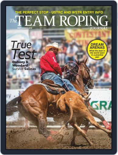The Team Roping Journal (Digital) September 1st, 2019 Issue Cover