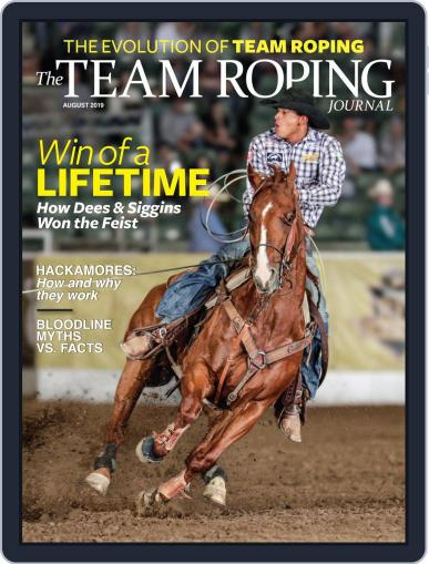 The Team Roping Journal (Digital) August 1st, 2019 Issue Cover