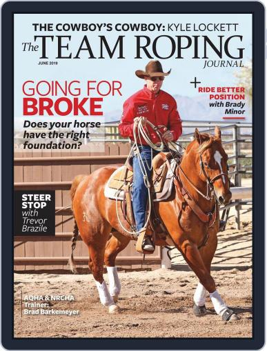 The Team Roping Journal (Digital) June 1st, 2019 Issue Cover