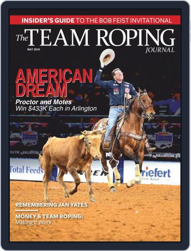 The Team Roping Journal (Digital) May 1st, 2019 Issue Cover