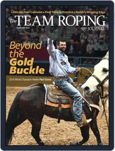 The Team Roping Journal (Digital) February 1st, 2019 Issue Cover