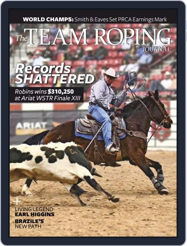 The Team Roping Journal (Digital) January 1st, 2019 Issue Cover