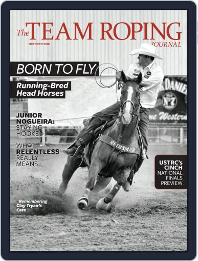 The Team Roping Journal (Digital) October 1st, 2018 Issue Cover