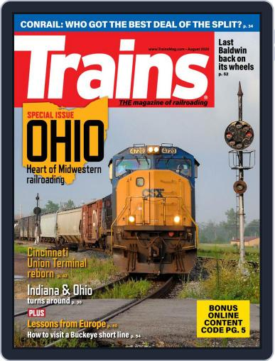 Trains (Digital) August 1st, 2020 Issue Cover