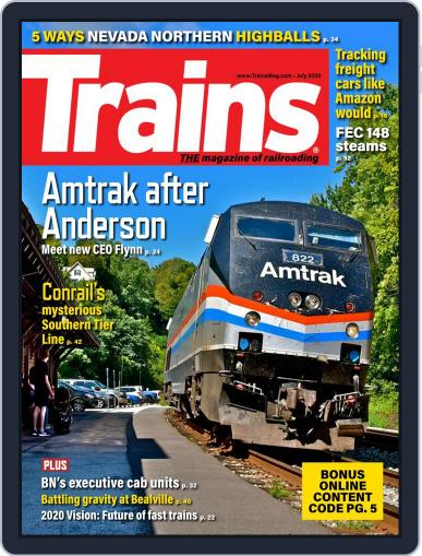 Trains (Digital) July 1st, 2020 Issue Cover