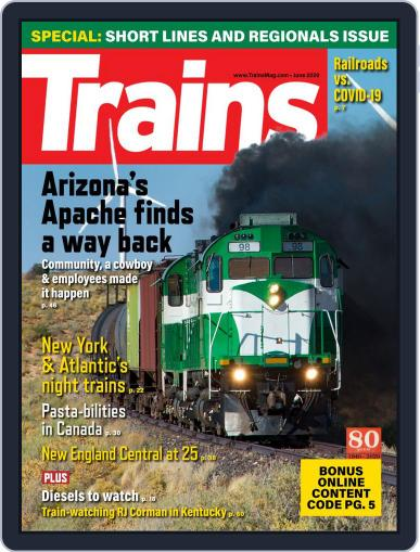 Trains (Digital) June 1st, 2020 Issue Cover