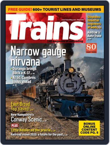 Trains (Digital) May 1st, 2020 Issue Cover