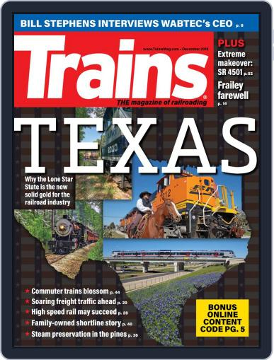 Trains (Digital) December 1st, 2019 Issue Cover