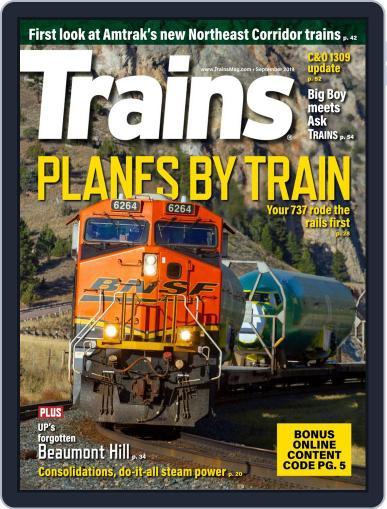 Trains (Digital) September 1st, 2019 Issue Cover
