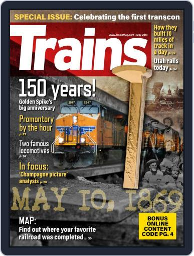 Trains (Digital) May 1st, 2019 Issue Cover