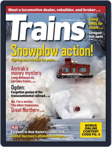 Trains (Digital) January 1st, 2019 Issue Cover