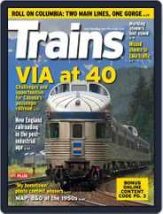 Trains (Digital) Subscription November 1st, 2018 Issue