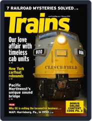 Trains (Digital) Subscription February 1st, 2018 Issue