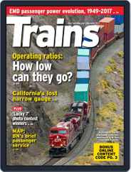 Trains (Digital) Subscription November 1st, 2017 Issue