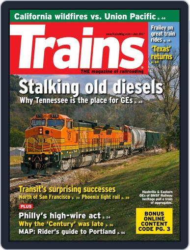 Trains (Digital) July 1st, 2017 Issue Cover