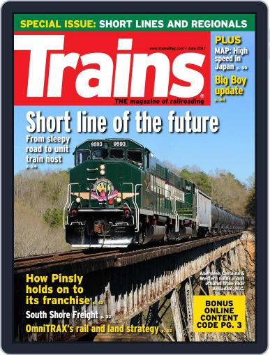 Trains (Digital) June 1st, 2017 Issue Cover