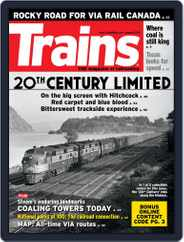 Trains (Digital) Subscription August 1st, 2016 Issue