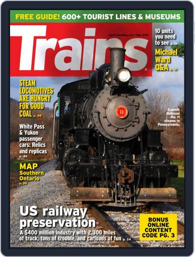Trains (Digital) May 1st, 2016 Issue Cover