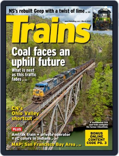 Trains (Digital) January 22nd, 2016 Issue Cover