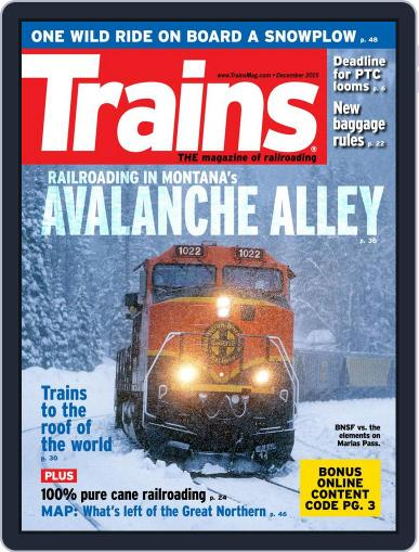 Trains (Digital) December 1st, 2015 Issue Cover