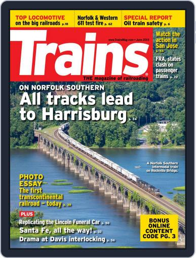 Trains (Digital) June 1st, 2015 Issue Cover