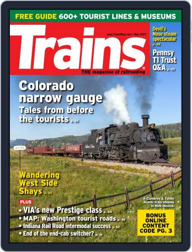 Trains (Digital) March 27th, 2015 Issue Cover