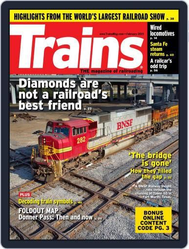 Trains (Digital) February 1st, 2015 Issue Cover