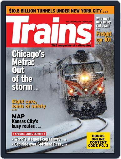 Trains (Digital) January 23rd, 2015 Issue Cover