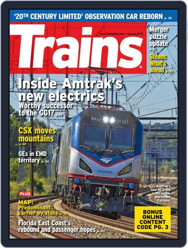 Trains (Digital) January 1st, 2015 Issue Cover