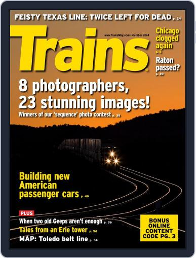 Trains (Digital) August 22nd, 2014 Issue Cover