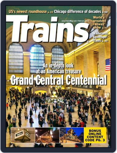 Trains (Digital) December 22nd, 2012 Issue Cover