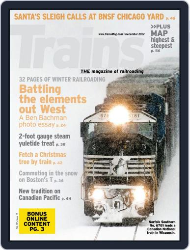 Trains (Digital) October 27th, 2012 Issue Cover