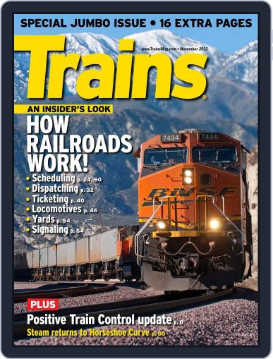 Trains (Digital) September 22nd, 2012 Issue Cover