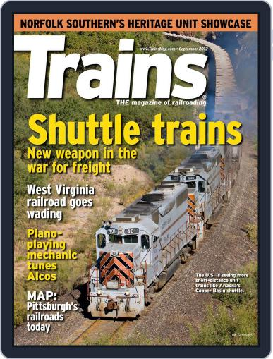 Trains (Digital) July 21st, 2012 Issue Cover