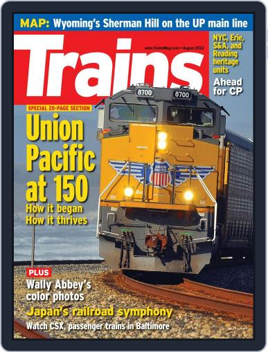 Trains (Digital) June 23rd, 2012 Issue Cover
