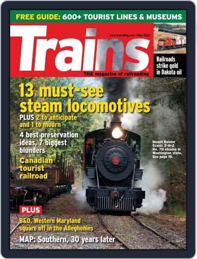 Trains (Digital) March 24th, 2012 Issue Cover