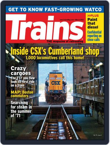 Trains (Digital) January 21st, 2012 Issue Cover