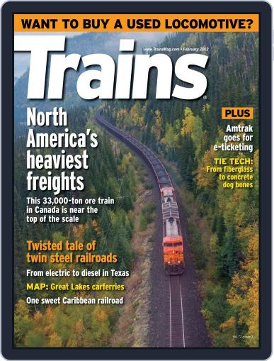 Trains (Digital) December 24th, 2011 Issue Cover