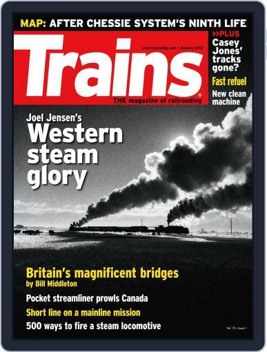 Trains (Digital) November 25th, 2011 Issue Cover