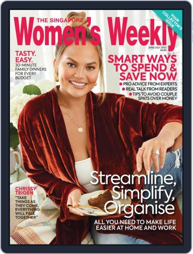Singapore Women's Weekly June 1st, 2020 Digital Back Issue Cover