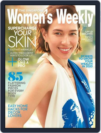 Singapore Women's Weekly April 1st, 2020 Digital Back Issue Cover