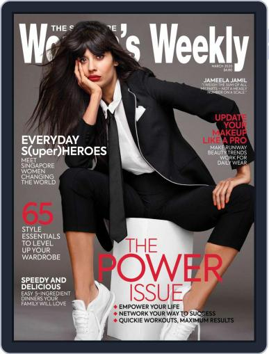 Singapore Women's Weekly March 1st, 2020 Digital Back Issue Cover