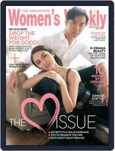 Singapore Women's Weekly February 1st, 2020 Digital Back Issue Cover