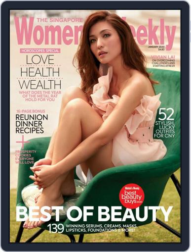 Singapore Women's Weekly January 1st, 2020 Digital Back Issue Cover