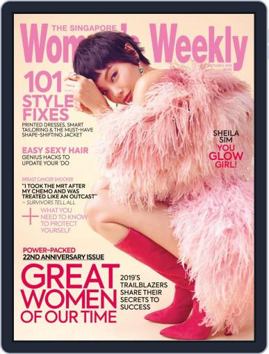 Singapore Women's Weekly (Digital) October 1st, 2019 Issue Cover