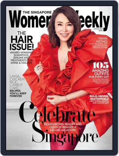 Singapore Women's Weekly August 1st, 2019 Digital Back Issue Cover