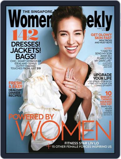 Singapore Women's Weekly March 1st, 2019 Digital Back Issue Cover