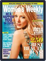 Singapore Women's Weekly (Digital) Subscription December 21st, 2014 Issue