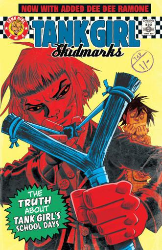 Tank Girl: Skidmarks Magazine (Digital) April 26th, 2011 Issue Cover